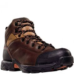 17601 Danner Men's Corvallis Work Boots - Brown www.bootbay.com