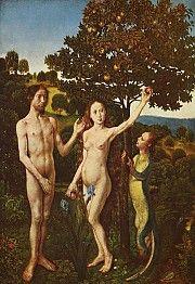 De val van Adam en Eva (ca. 1475) - Hugo van der Goes