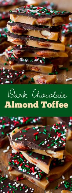 ADDICTIVE! Covered in rich salted dark chocolate, each sweet buttery bite is filled with crunchy toasted almonds!