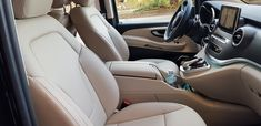 2018 Mercedes-Benz V-Class beige leather interior luxury van Mercedes Benz, Mercedes Sprinter, Luxury Van, Benz S Class, Leather Interior, Car Seats, Beige, Cars, Autos