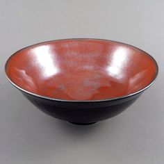 """Stoneware bowl... A little different to our softer stuff. #clay #ceramics #ceramicist #ceramicart #pottery #potter #art #artist #originalart #handmade…"""
