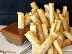 Apple Pie Fries 1 pkg refrigerated pie crust ... | Culinary Confessional