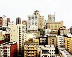San Francisco, Downtown (8x10 Fine Art Photograph) by Anikatoro via Etsy #fpoe