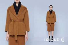 ICICLE之禾一件适合旅行的双面呢大衣 你入手了吗_ICICLE芝禾品牌动态-中国品牌服装网 Style, Fashion, Dress, Swag, Moda, Fashion Styles, Fashion Illustrations, Outfits