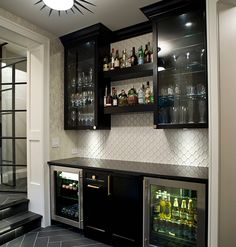 Luxury Basement Bar Accessories
