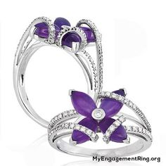 The beauty of the purple diamond engagement ring - Engagement & Wedding Rings