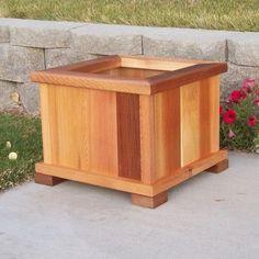 WoodCountry Square Planter Box