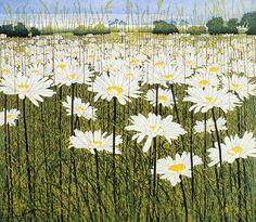 Phil Greenwood (UK ,Wales. b.1943) Daisy  etching 57 x 50 cm