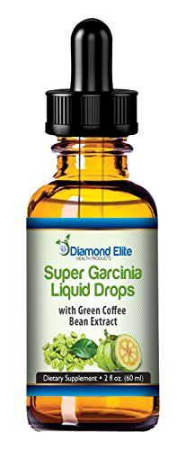 Super Garcinia Cambogia Liquid Drops With Green Coffee Bean Extract – 2 oz – Best Appetite Suppression For Quick Weight Loss – 2 Powerful Supplements Infused Into 1 – 100% MONEY BACK GUARANTEE!