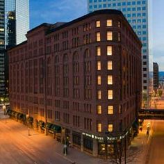 Brown Palace Hotel, Denver, Colorado  - opened on Aug. 12, 1892 and has a history of hosting celebrities and famous politicians  - the place is so well-known for it's hauntings that it has embraced them and offers a ghost tour on site, which highlights the spirits residing within