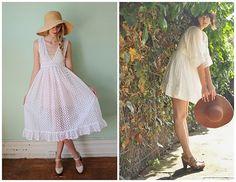 Gorgeous white dress inspiration