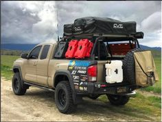 Custom Truck Bed Presents Ideas Toyota Tacoma 4x4, Tacoma Truck, Overland Tacoma, Overland Truck, Expedition Vehicle, Pickup Camping, Truck Camping, Custom Truck Beds, Custom Trucks