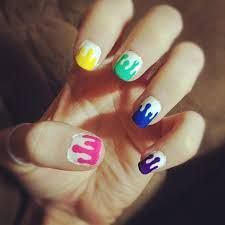 Claire's Nails, Nails News, Teen Nails, Hair And Nails, Manicure, Cute Nail Art, Cute Nails, Pretty Nails, Splatter Nails
