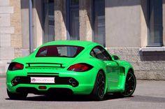 Green Lamborghini