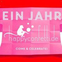 <3 <3 Wunderschöne Party-Set Verlosung beim Team von Hochzeitswahn #happyconfettiparty !!! <3 <3