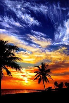 Key West beach., Florida
