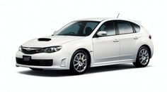 Subaru Impreza STI SPRT white edition