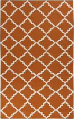 Surya Frontier FT-448 Burnt Orange Area Rug