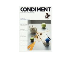 Condiment: Adventures in Food and Form (Issue 02)
