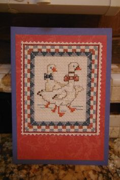 BIRDS of a FEATHER Handcrafted Scrapbook by CraftyCrossStitches, $9.99