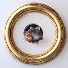 «Забавные и пушистые»: очень милые иллюстрации Marina Dieul - Ярмарка Мастеров - ручная работа, handmade