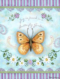 Blue Butterfly: Illustrations of Barbara Ann Kenney / Butterflies