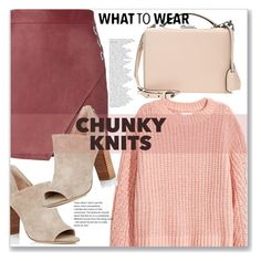 """""""What to Wear - Chunky Knits"""" by sonyastyle ❤ liked on Polyvore featuring Diane Von Furstenberg, Michelle Mason, Mark Cross, polyvoreeditorial, polyvorecontest and chunkyknits"""