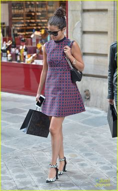 Selena Gomez Hits Louis Vuitton Show Before Jetting Out Of France