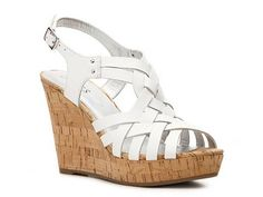 Guess Eppie Wedge Sandal | DSW