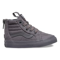 bb37f856dc The Mono Sk8-Hi Zip combines the legendary Vans lace-up high top with