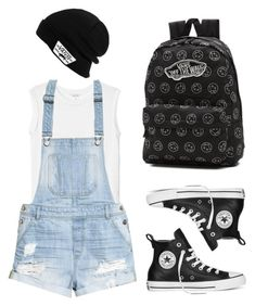 """""""Date with Louis Tomlinson & Harry Styles"""" by trxnh on Polyvore featuring Monki, H&M, Converse, Vans, tumblr, grunge, SkaterGirl, skater and grungepolyvore"""