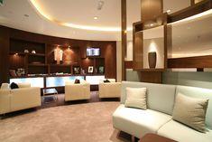 Business class lounge Etihad in Abu Dhabi