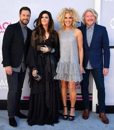 Little Big Town from ACM Awards 2017: Red Carpet Arrivals  Could this foursome take home Vocal Group of the Year? Only time will tell.