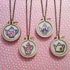 #lovehandmade #dandelyne #minihoops #teapots #flowers #ilovetea #teafortwo #lavender #sunflower #daisy