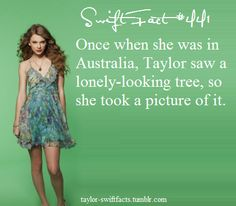 Taylor Swift facts oh how cna u not love her XD