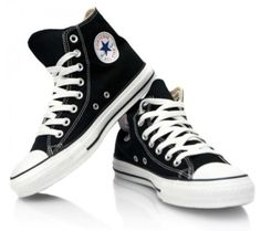 2d5d9902ab2c CONVERSE CHUCK TAYLOR BLACK WHITE HIGH TOP CANVAS NEW IN BOX SIZES 3.5 TO 12