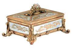 Rococo Mirrored Box on One Kings Lane today