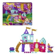 My Little Pony Crystal Empire Playset My Little Pony, Princess Peach, Empire, Crystals, Amazon, Games, Toys, Fictional Characters, Art