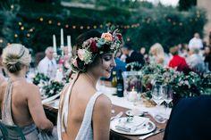 Pretty garden wedding bridal style | Image by Stefano Santucci