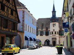 Hôtel de ville situé à Benfeld Périodes de construction :16e siècle ; 1er quart 17e siècle