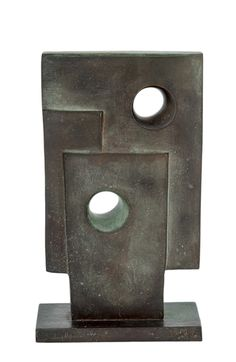 Artwork by Barbara Hepworth, Maquette for Monolith, Made of Bronze