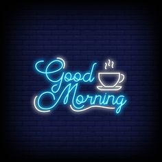 Good morning in neon style. Good Morning Letter, Good Morning Hug, Cute Good Morning Quotes, Good Morning Cards, Good Day Quotes, Morning Inspirational Quotes, Good Morning Messages, Good Morning Greetings, Good Morning Wishes