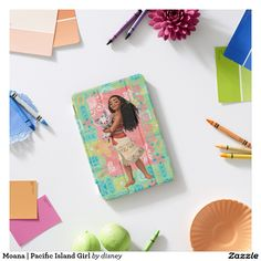 Moana | Pacific Island Girl. Regalos, Gifts. Producto disponible en tienda Zazzle. Product available in Zazzle store. Link to product: http://www.zazzle.com/moana_pacific_island_girl_ipad_mini_cover-256476344176666777?CMPN=shareicon&lang=en&social=true&rf=238167879144476949 #carcasas #cases #moana