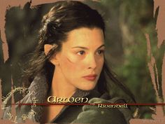 lord of the rings characters elves | Arwen Undomiel (The Lord of the Rings)