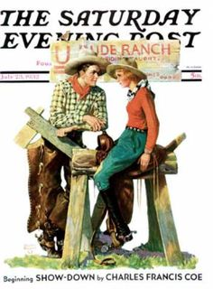 Saturday Evening Post - 1932-07-23: Dude Ranchers (Charles Hargens)