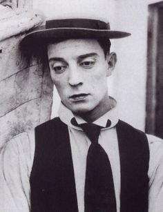 The Age of Comedy - Buster Keaton. Such a handsome man!