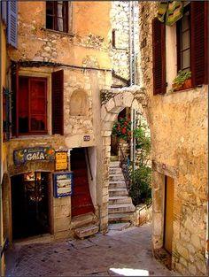 Medieval Village, Tourettes sur Loupe, France