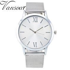 >> Click to Buy << Fashion Women Silver Watch Luxury Stainless Steel Wristwatch Casual Gold Quartz Watch Relogio Feminino Gift Ladies Clock 1974 #Affiliate