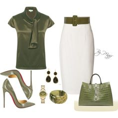 """Polyvore Office Outfits 
