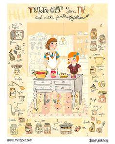 Julia Glukhoy Lilla Rogers, Tinta China, Painting Wallpaper, You Draw, Illustration Girl, Food Illustrations, Book Art, Doodles, Sketches
